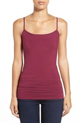 Petite Women's Halogen 'Absolute' Camisole Purple Potion