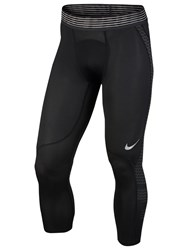 Nike Pro Hypercool Training Tights Black White