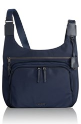 Tumi Voyager Siam Nylon Crossbody Bag Blue Navy