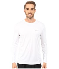 Marmot Windridge Ls White Men's Long Sleeve Pullover