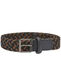 Andersons Anderson's Slim Woven Textile Belt Multi