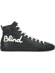 Gucci Blind For Love Sneakers Black