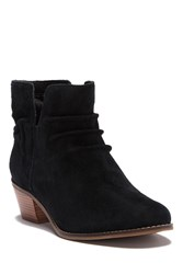 Cole Haan Alayna Slouch Suede Bootie Black Sued