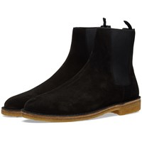 Saint Laurent Crepe Sole Chelsea Boot Black