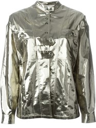 Isabel Marant Metallic Lightweight Jacket