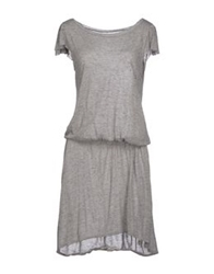Crossley Knee Length Dresses Grey