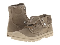 Palladium Baggy Low Lp Tobacco Putty Women's Lace Up Boots Brown