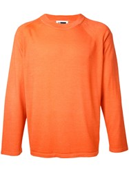 H Beauty And Youth Crewneck Cashmere Sweater Men Cashmere L Yellow Orange