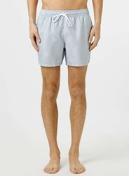 Topman Grey Marl Print Swim Shorts