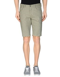 0051 Insight Denim Bermudas Military Green