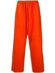 08Sircus Elasticated Waist Trousers Orange