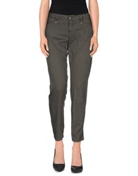 9.2 By Carlo Chionna Trousers Casual Trousers Women Grey