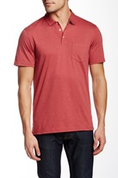 14Th And Union Jersey Polo Red