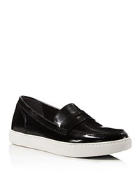 Kenneth Cole Kacey Leather Loafers Black
