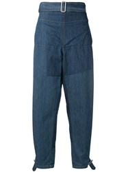 J.W.Anderson Jw Anderson Deconstructed Jeans Blue
