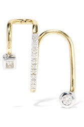 Maria Black Avery Blanc 18 Karat Gold