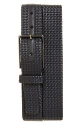 Ermenegildo Zegna Men's Woven Leather Belt