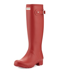 Hunter Boot Original Tour Welly Boot Military Red