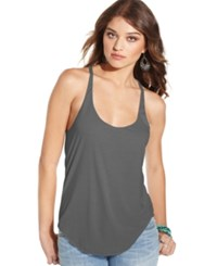 American Rag Racerback Tank Top Only At Macy's Heather Grey