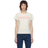 Helmut Lang Off White Baby T Shirt
