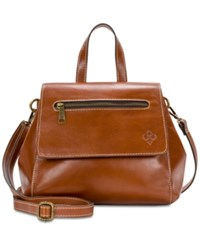 Patricia Nash Veg Molina Medium Convertible Satchel Tan