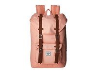 Herschel Little America Mid Volume Apricot Blush Tan Synthetic Leather Backpack Bags Orange