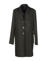 Calvaresi Coats And Jackets Coats Women Military Green
