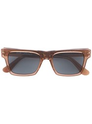 Our Legacy Faith Earth Sunglasses Men Acetate One Size Brown