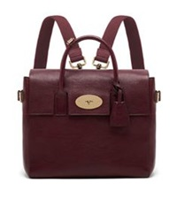 Mulberry Cara Backpack Oxblood