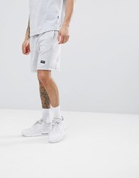Nicce London Shorts In Towelling Grey