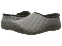 Keen Howser Ii Slide Houndstooth Women's Slippers Black