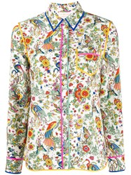 Tory Burch Promised Land Floral Shirt 60
