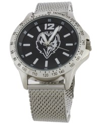 Game Time Baltimore Ravens Cage Series Watch Silver Black