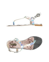 Just Cavalli Footwear Thong Sandals Women