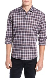 Culturata Perfect Check Tailored Fit Sport Shirt