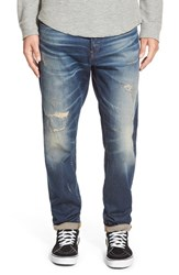 G Star Men's G Star Raw '3301 Low Tapered' Slouchy Slim Fit Jeans Blue