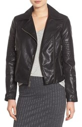 Levi'sr Women's Levi's Faux Leather Moto Jacket Black