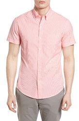 Bonobos Men's Slim Fit Stripe Seersucker Sport Shirt