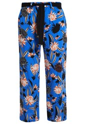 Dorothy Perkins Curve Trousers Blue