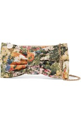Red Valentino Redvalentino Bow Embellished Printed Canvas Shoulder Bag Multi