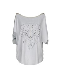 Tricot Chic Blouses Light Grey