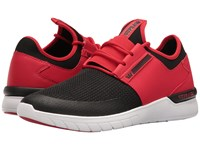Supra Flow Run Red Black White Men's Skate Shoes