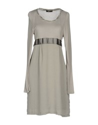 Ajay Short Dresses Light Grey