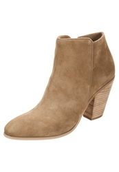 Buffalo Ankle Boots Camel Light Brown