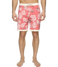 Vans Model T Boardshorts 19 Racing Red Men's Swimwear