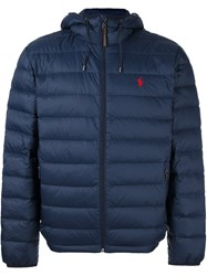 Polo Ralph Lauren Quilted Shell Jacket Blue