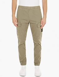 Stone Island Sand Slim Fit Cargo Trousers