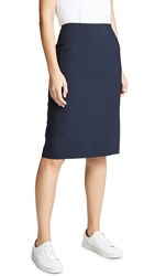 Theory Edition Pencil Skirt Navy