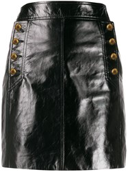 Givenchy Woman Mioni Skirt Leather Botton 60