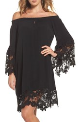 Muche Et Muchette Jolie Lace Accent Cover Up Dress Black